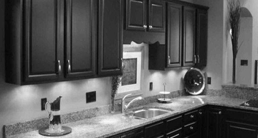 Gray Walls White Cabinets Kitchens Deductour
