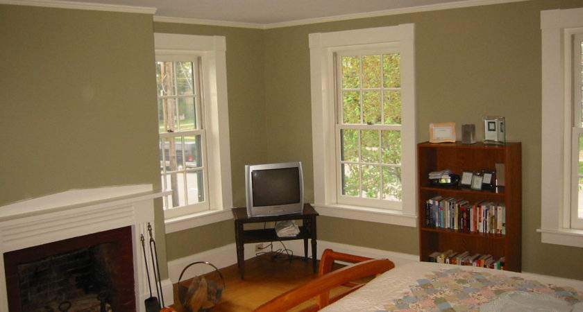 Grey Painted Rooms Interior Design Wall