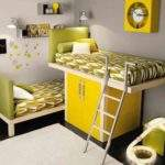 Grey Yellow Bedroom Decorating Ideas Decor