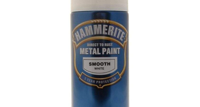 Hammerite Direct Rust Metal Paint Aerosol White