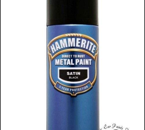 Hammerite Direct Rust Metal Paint Aerosol
