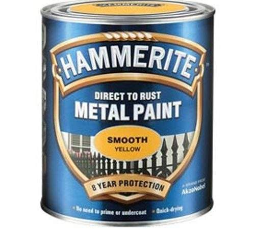 Hammerite Direct Rust Metal Paint Smooth Finish