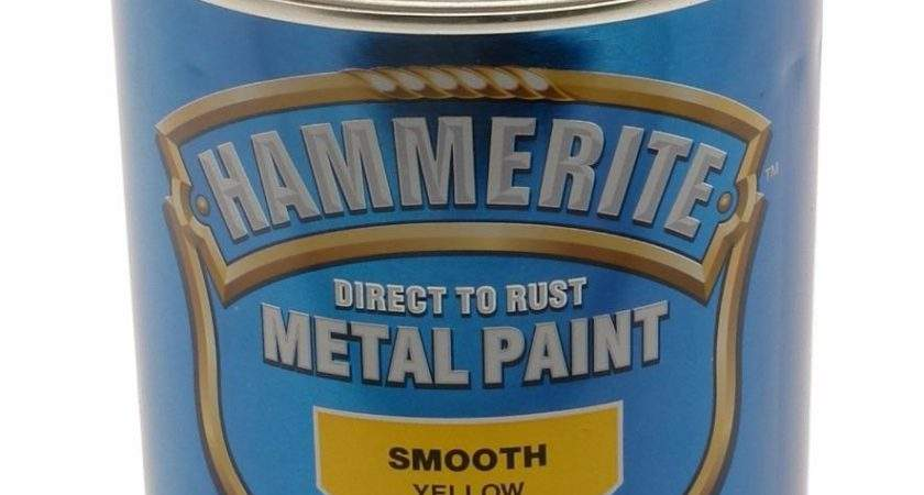 Hammerite Direct Rust Smooth Finish Metal Paint