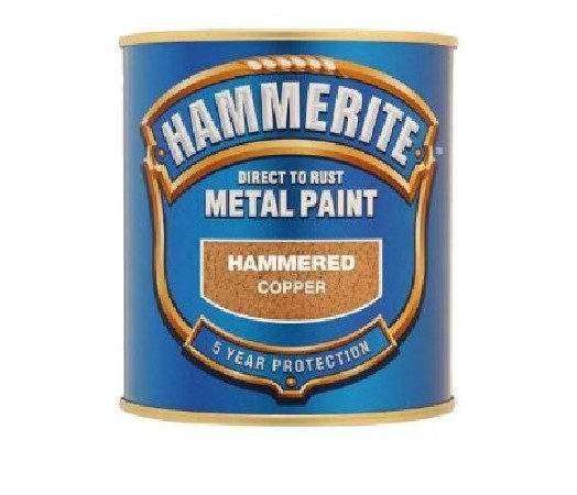Hammerite Hammered Direct Rust Metal Paint All Colours