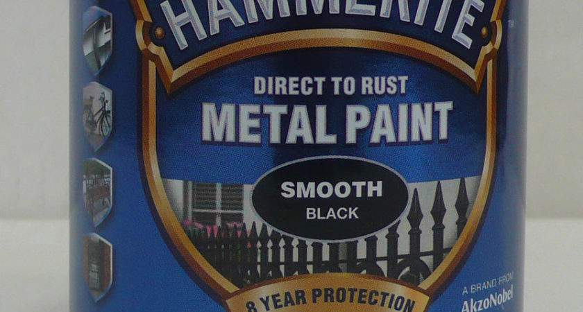 Hammerite Smooth Metal Paint Litre All Colours