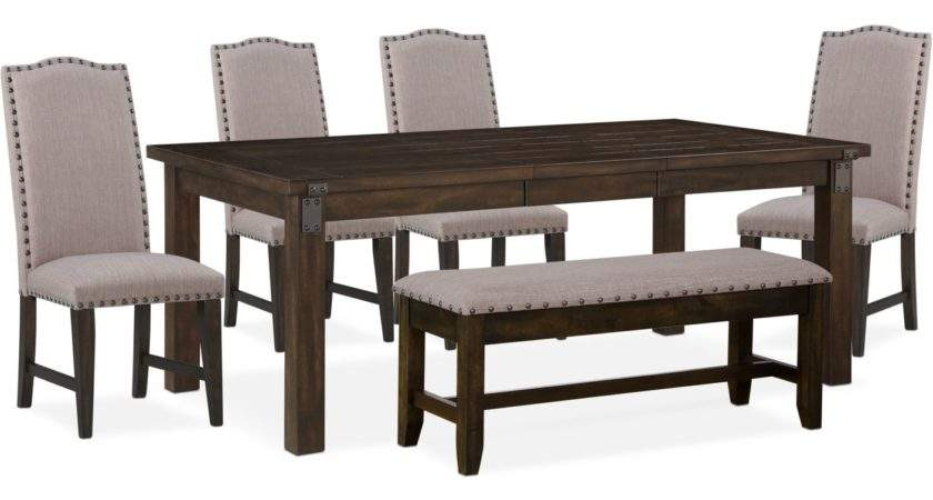 Hampton Dining Table Upholstered Side Chairs