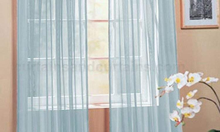 Hang Voile Panel Curtains Curtain Design