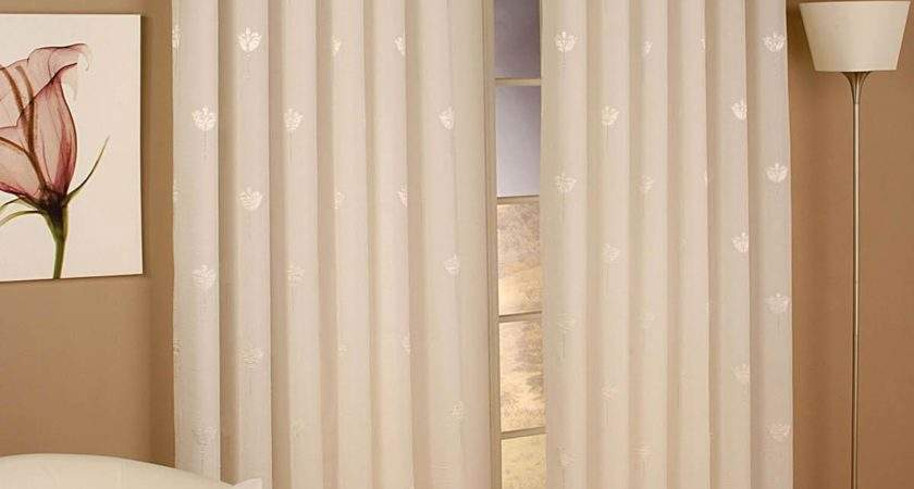 Hanging Modern Voile Curtains House Plan