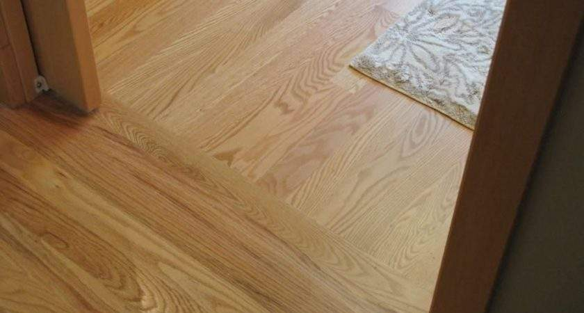 Hardwood Floor Transition One Room Another
