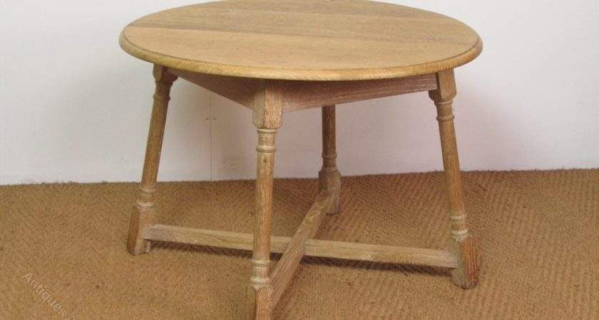 Heal Limed Oak Occasional Side Coffee Table Antiques
