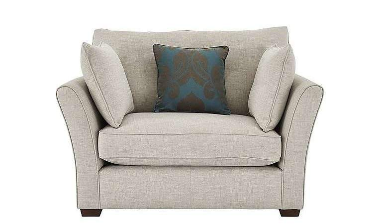 Healey Fabric Snuggler Armchair Furniture Village