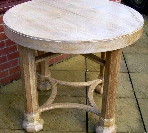 Heals Gothic Limed Oak Dining Table Antiques Atlas