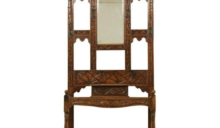 Heavily Carved Oak Hall Coat Stand Stdibs
