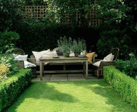 Hedges Create Definition Small Gardens