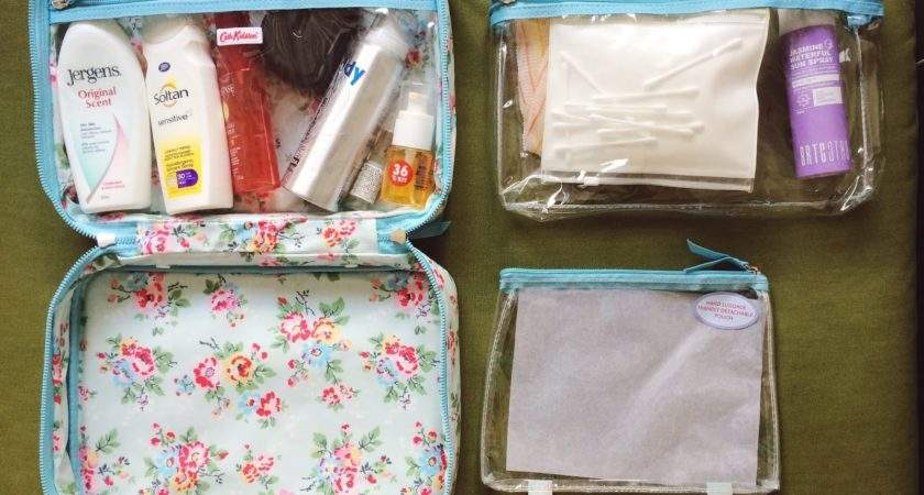 Hello Jesso Travel Packing Ideal Wash Bag Cath