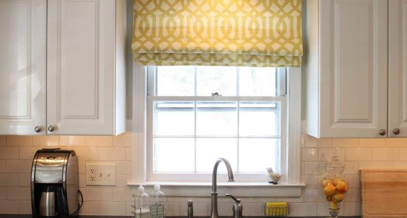 Here Some Ideas Your Kitchen Window Treatments