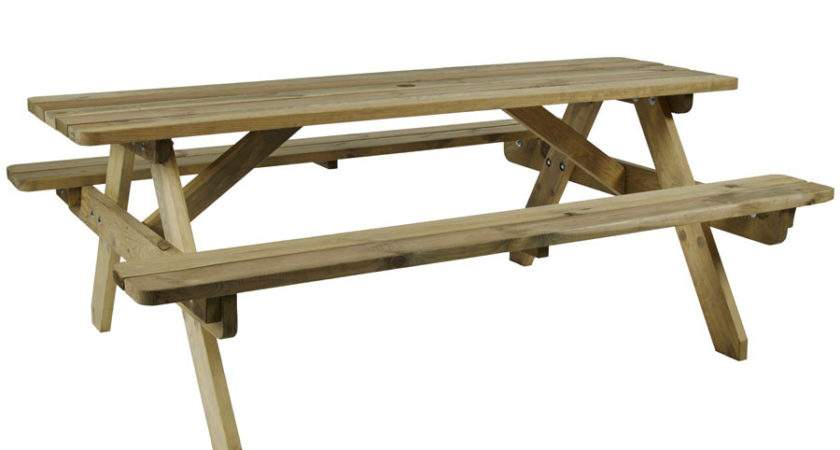 Hereford Picnic Table Seater Zap Trading