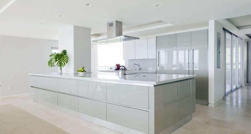 High Gloss Cabinets Kitchentoday