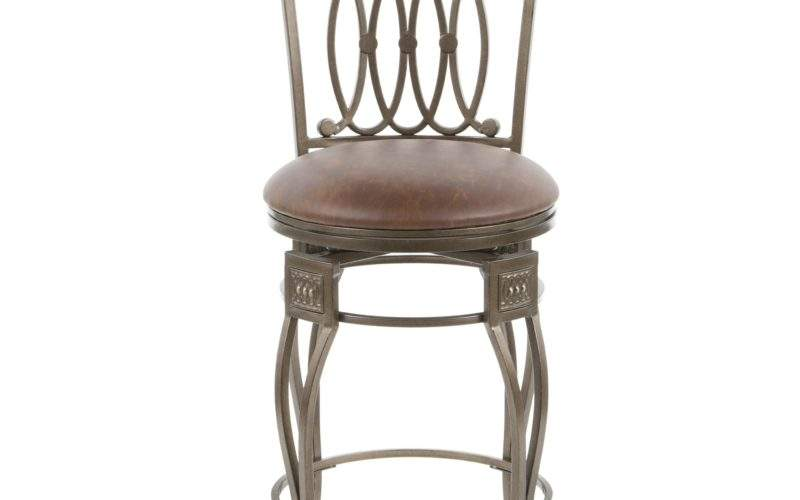 Hillsdale Easy Assembly Montello Swivel Bar Stool