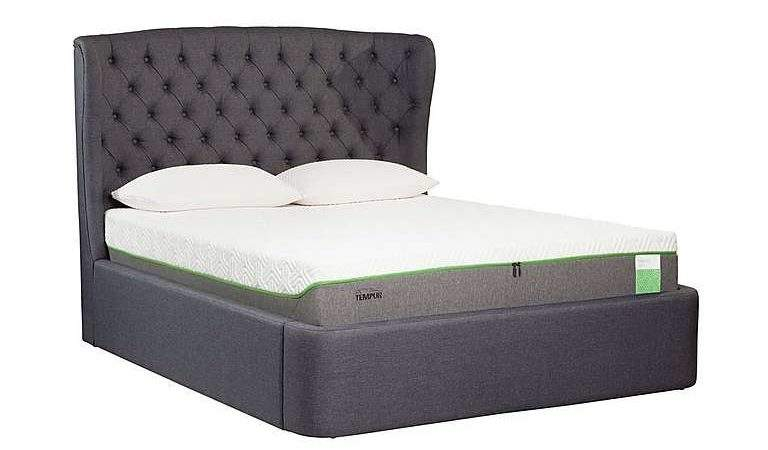 Holcot Ottoman Bed Frame Tempur Furniture Village