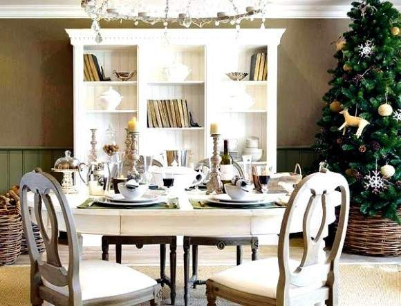 Holiday Dining Table Decorating Ideas Furniture Graphic