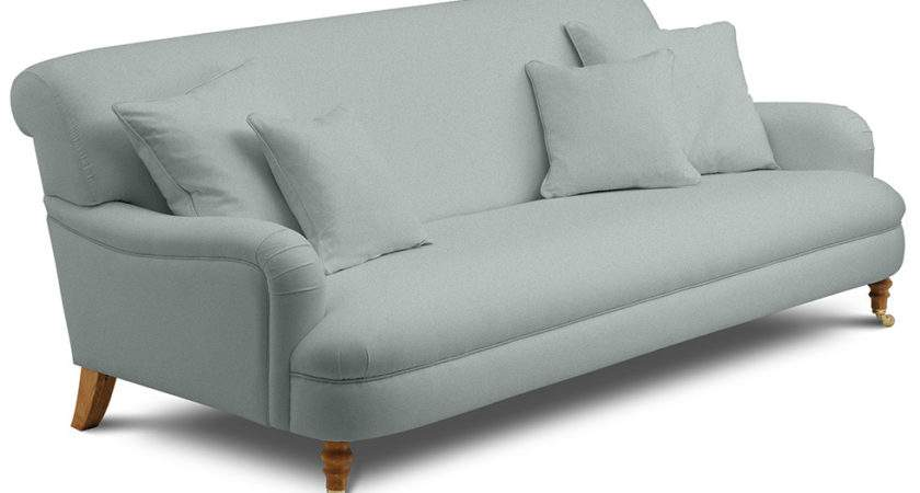 Holmfirth Large Sofa Fitted Biscay Duck Egg