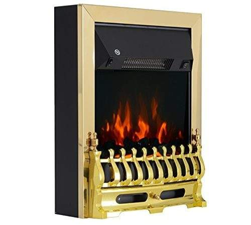 Homcom Electric Fireplace Led Light Complete Fire Place