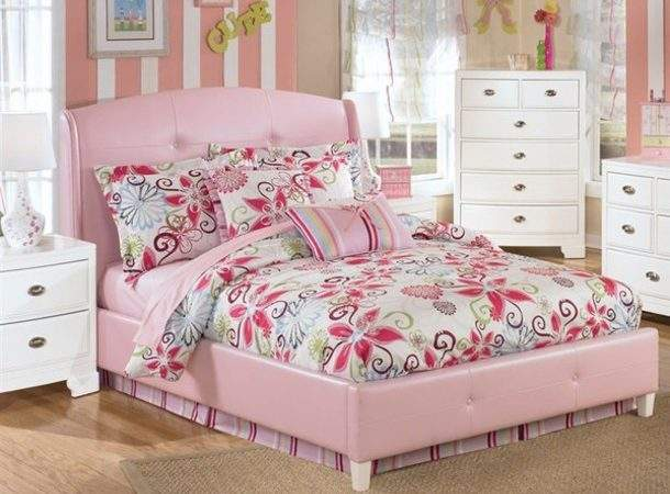 Home Accessory Bedding Pink Bed Girl