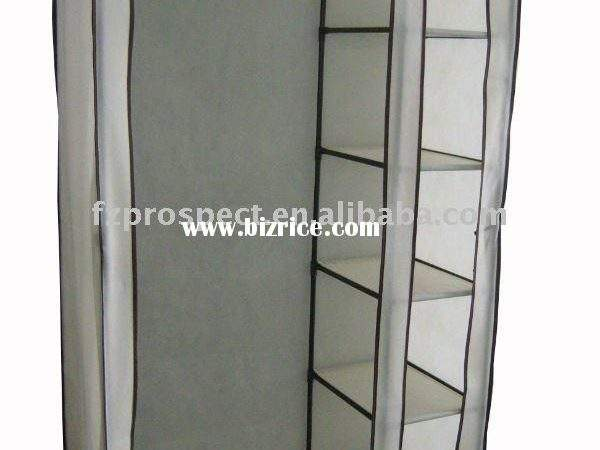 Home Clothing Storage Cabinets Bedroom Fabric Wardrobes