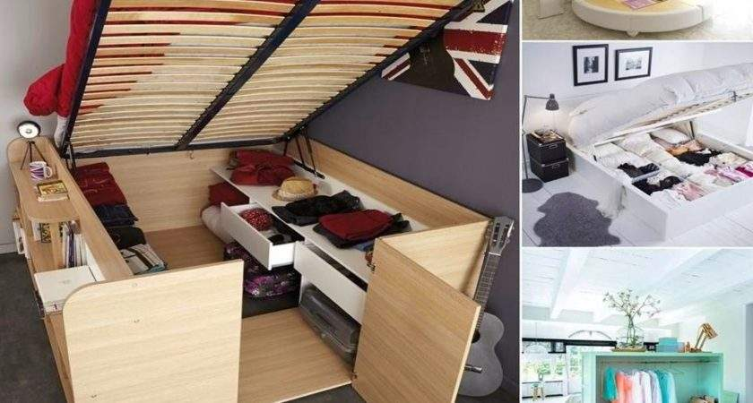 Home Decor Clever Storage Ideas Bedroom Furniture