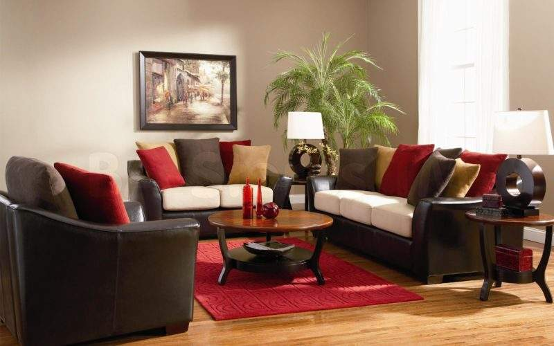 Home Design Ideas Leather Furniture Fascinating Living