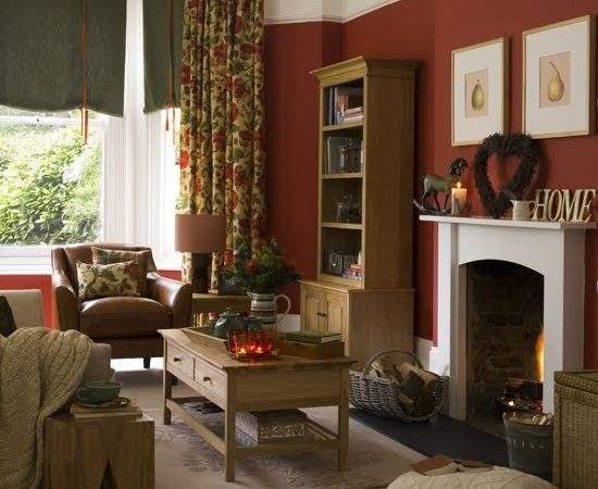 Home Garden Exclusive Country Living Room Design