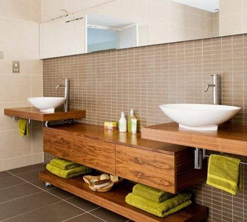 Home Remodeling Contemporary Bathroom Traditional