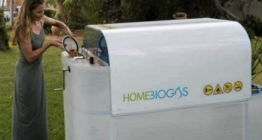 Home Sized Biogas Unit Lets Convert Your Own Organic