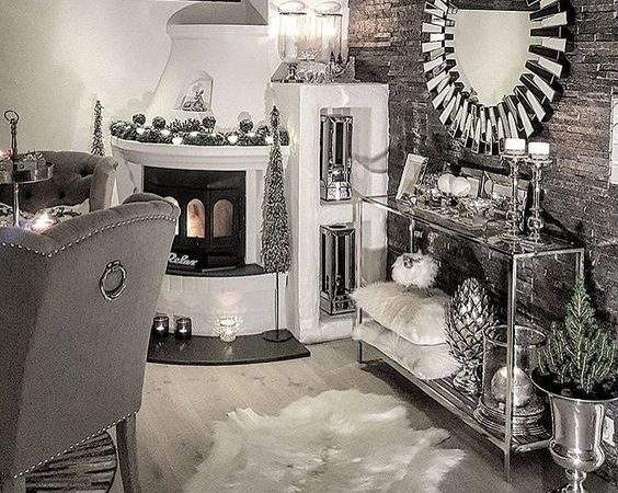 Home Sweet Arches Grey Silver Gold Living