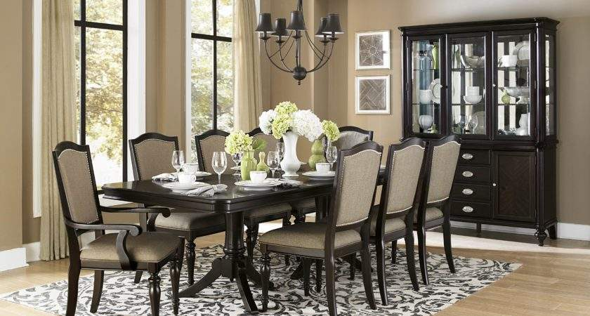 Homelegance Marston Piece Double Pedestal Dining Room