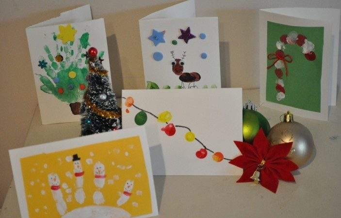 Homemade Christmas Card Ideas Kids Brisbane