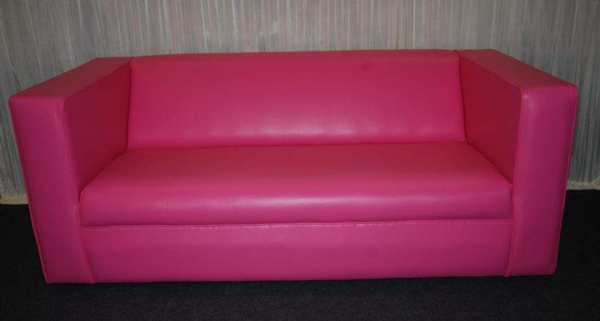 Hot Pink Sofa Fresh Leather Remodel