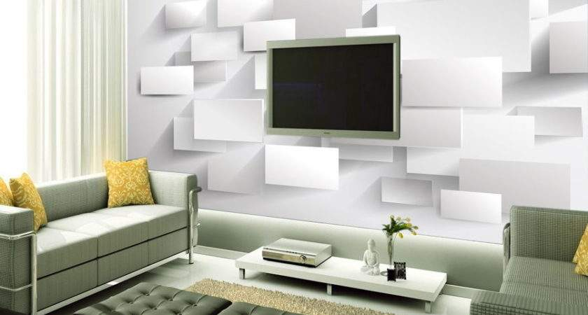 Hot Three Dimensional Stylish White Squares