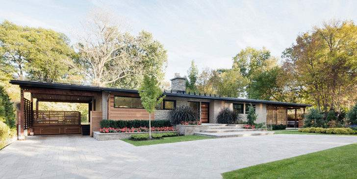 House Given Contemporary Without