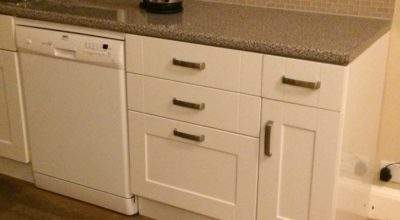Howden Gloss White Kitchen Door Drawer Fronts
