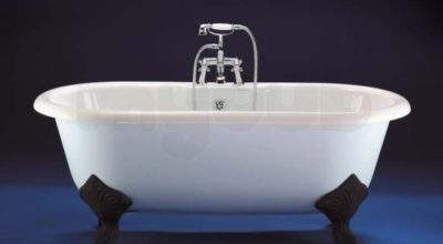 Ideal Standard Idealcast Roll Top Bath Feet White