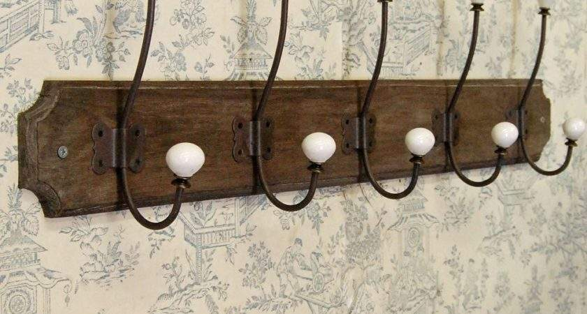 Ideas Build Coat Hooks Wall Mounted Homy Design