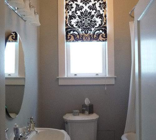 Ideas Replacements Bathroom Window Curtains