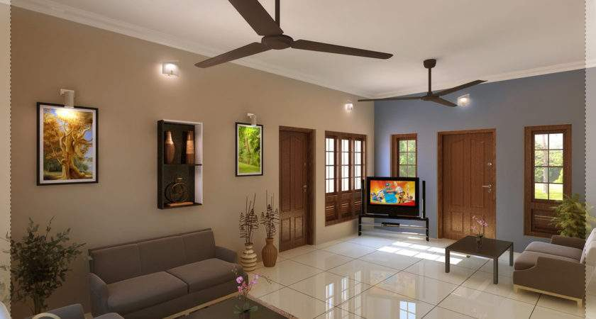 Ideas Simple Hall Designs Indian Homes Kerala Style