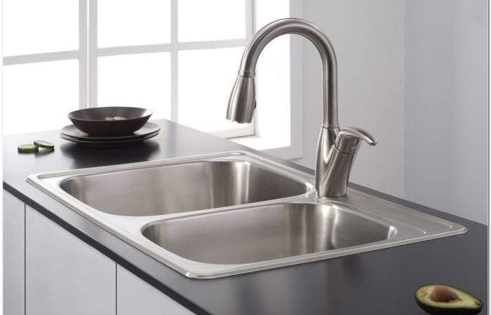 Ikea Stainless Steel Sink Cabinet Faucet Home