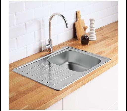 Ikea Stainless Steel Sink Drainboard Sinks Faucets