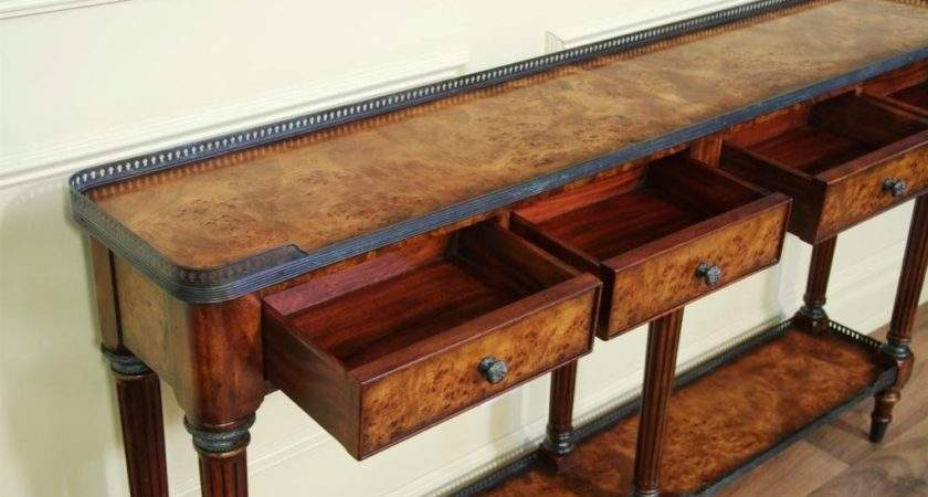 Inch Deep Console Table