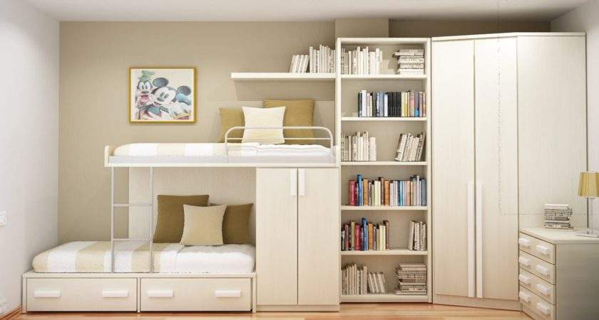 Incredible Sample Compact Beds Small Rooms Orange