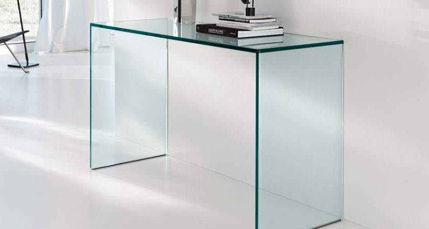 Incredible Small Glass Console Table Tables